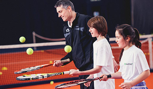 David Lloyd Clubs DL Kids tennis