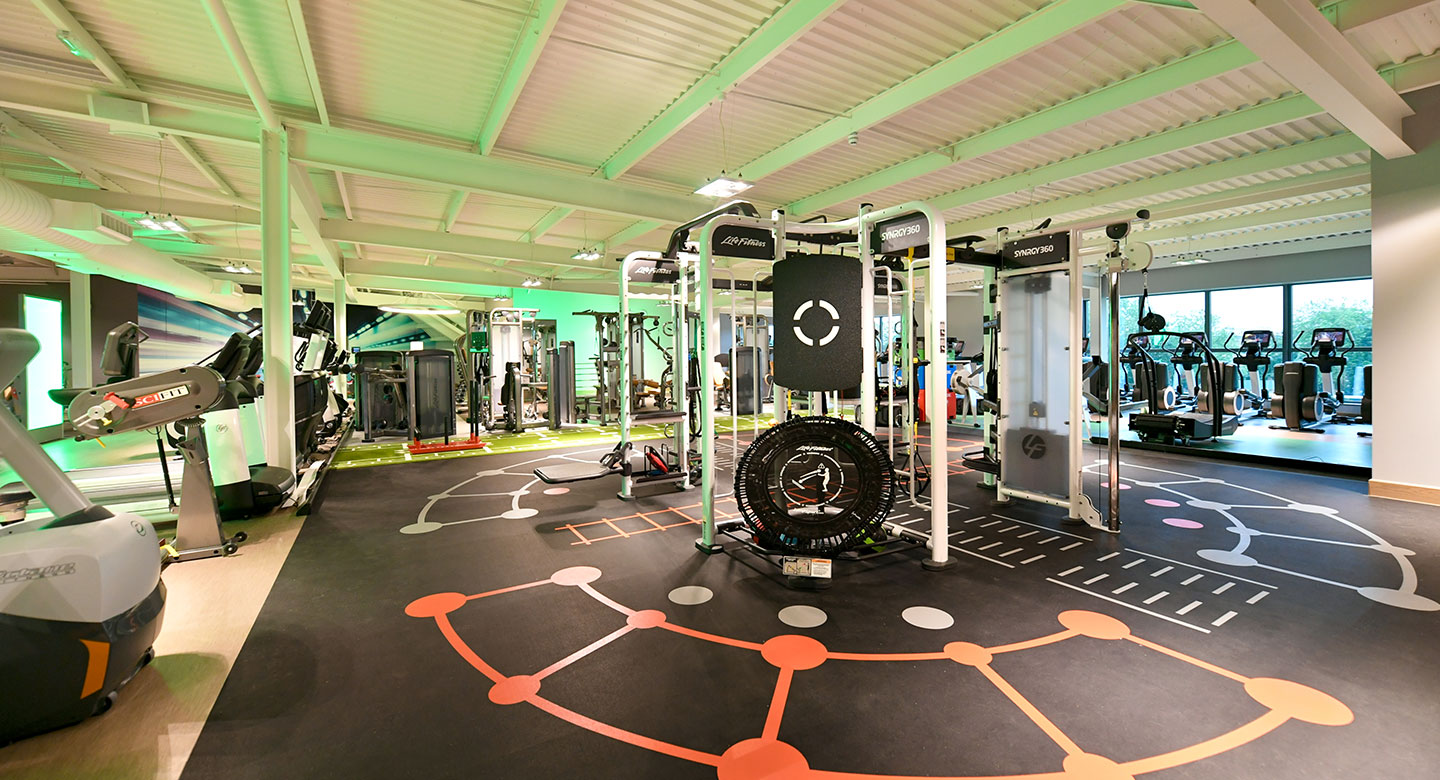 Image of the gym at David Lloyd Acton Park