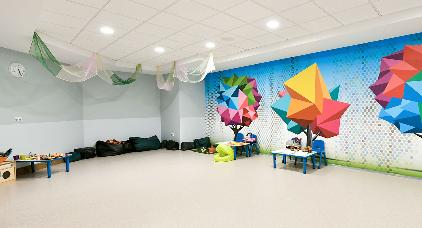 Image of the the Kids Room at David Lloyd Acton Park