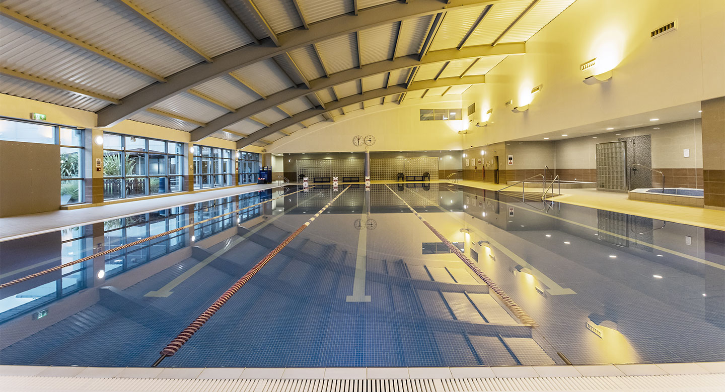 David Lloyd Basildon indoor pool