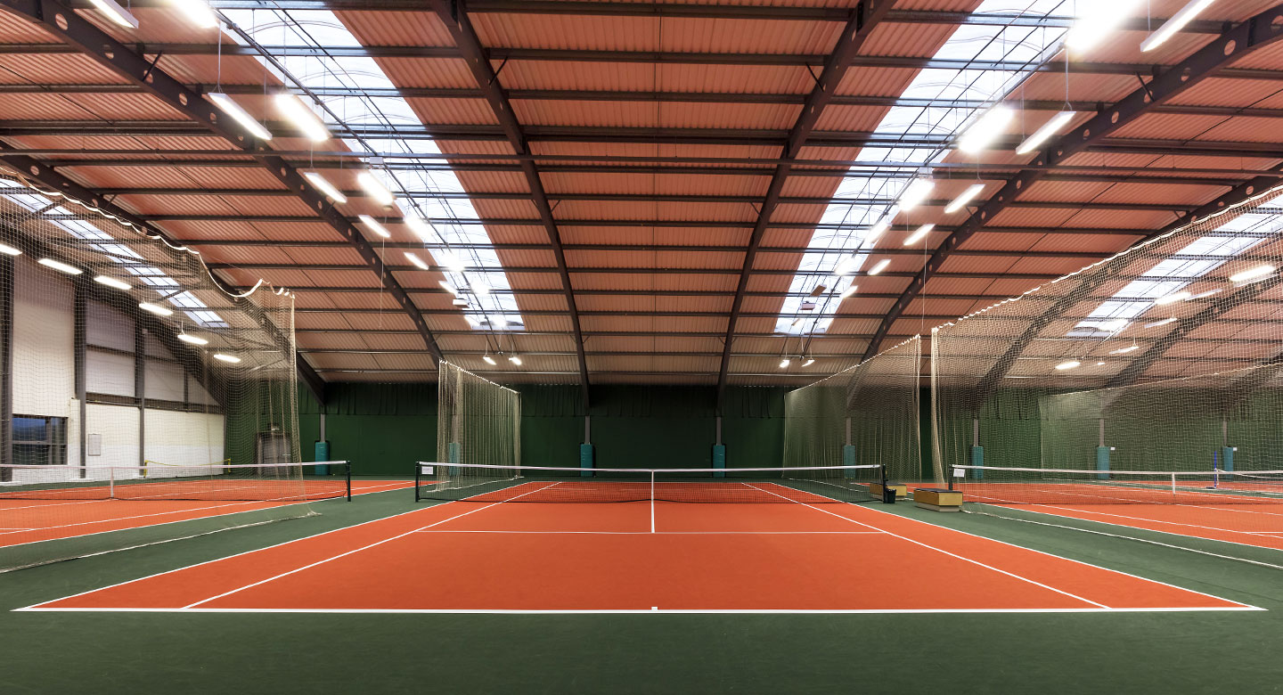 David Lloyd Basildon tennis courts