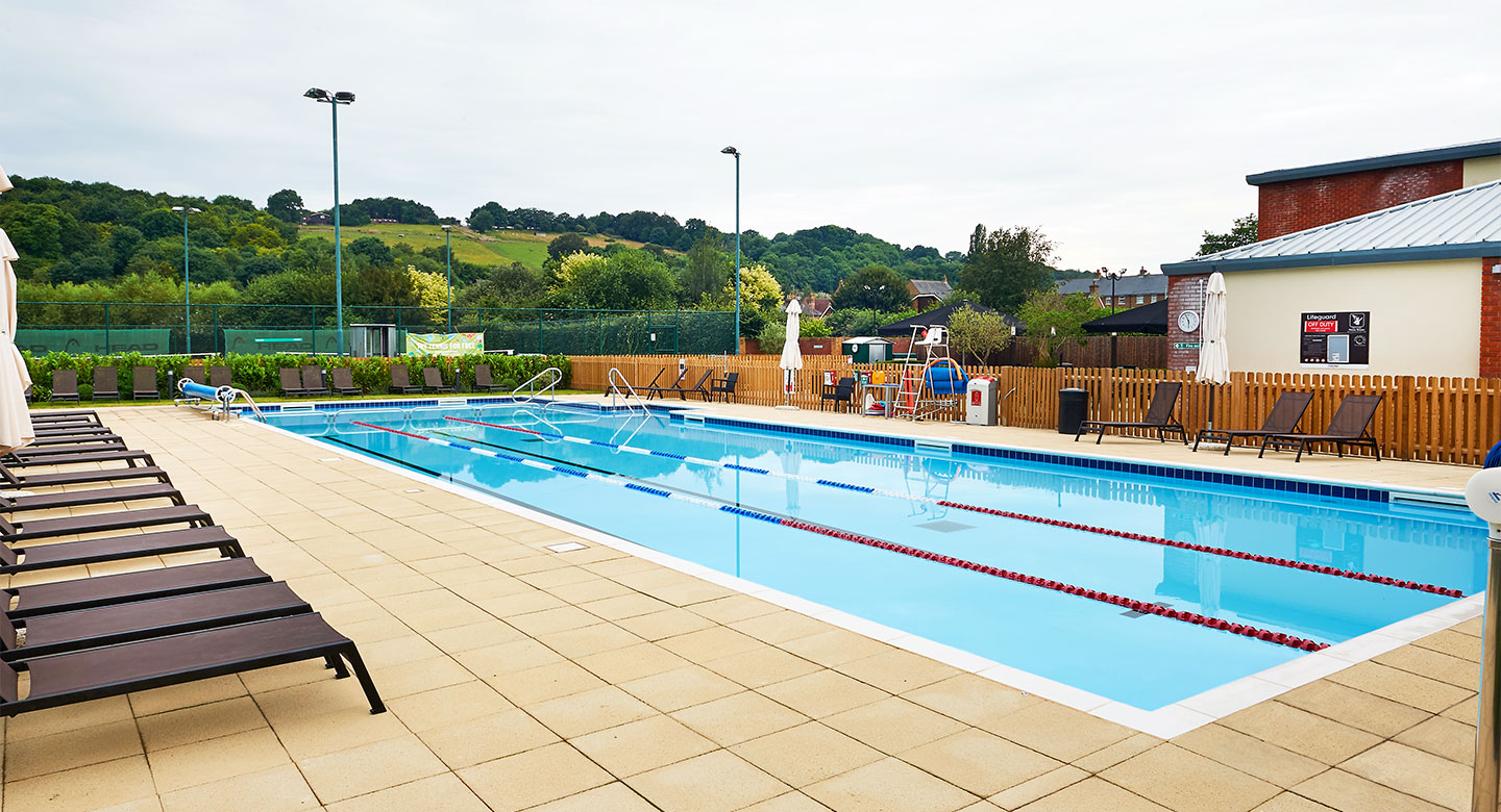 David Lloyd Beaconsfield outdoor pool