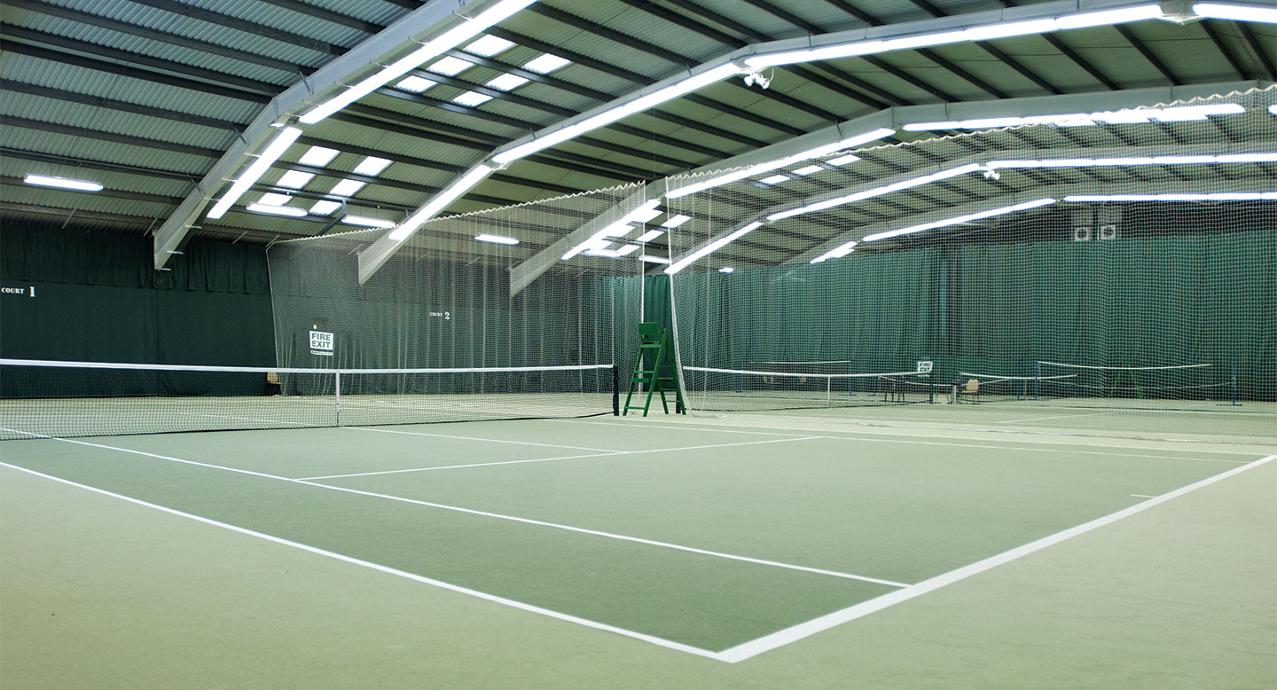 David Lloyd Beckenham indoor tennis