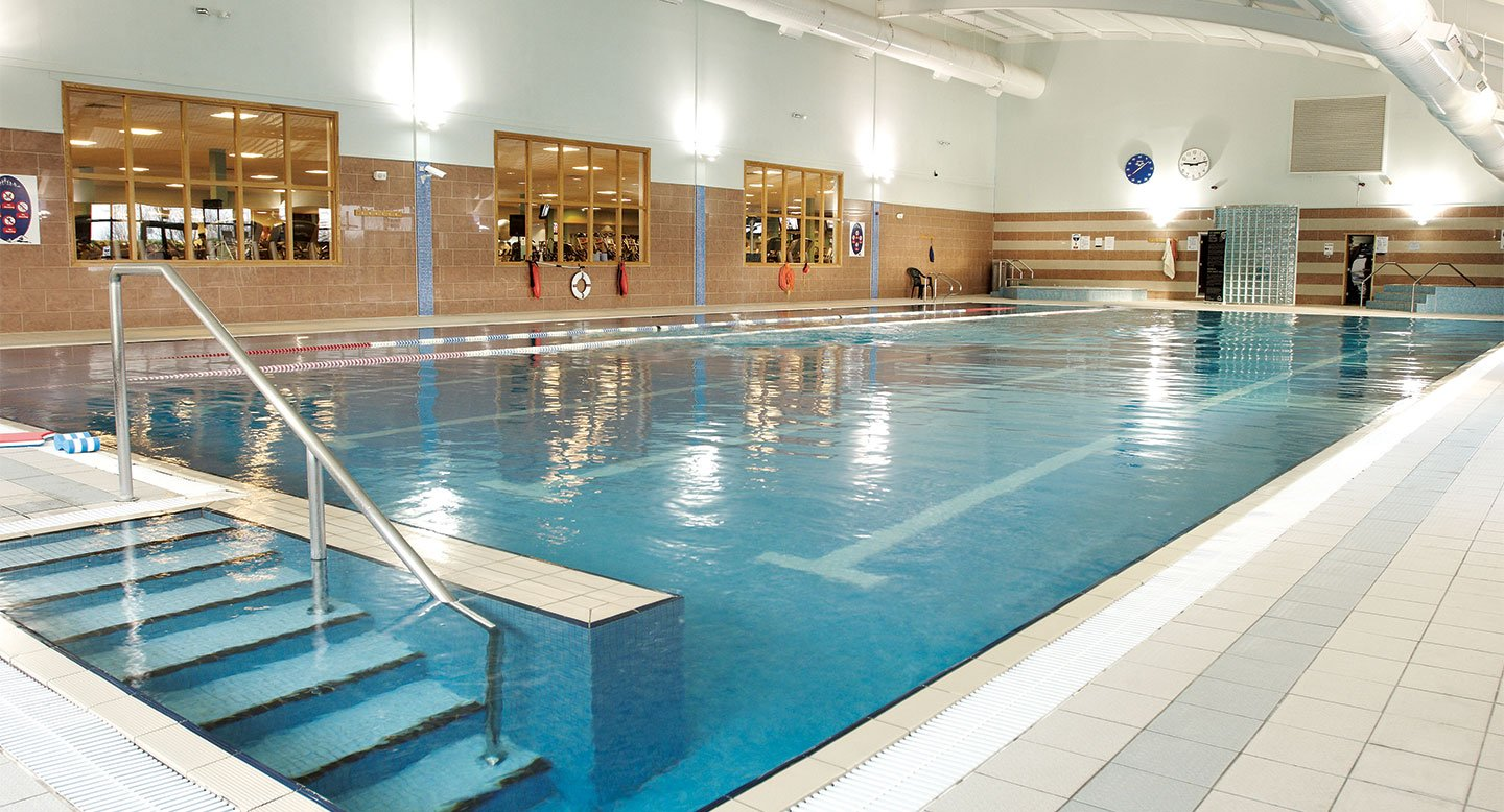 David Lloyd Belfast indoor pool