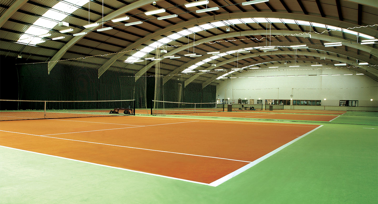 David Lloyd Belfast indoor tennis