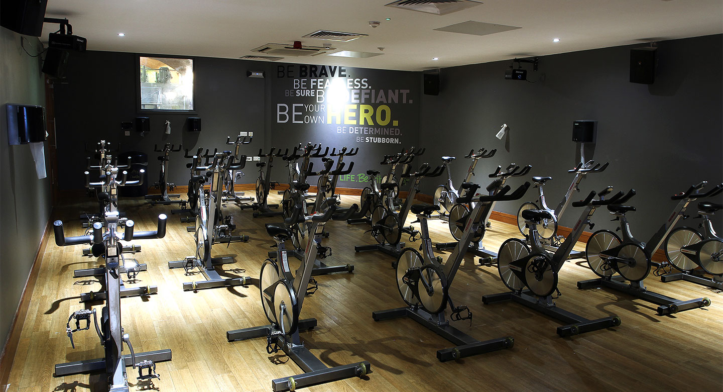 David Lloyd Birmingham group cycling studio