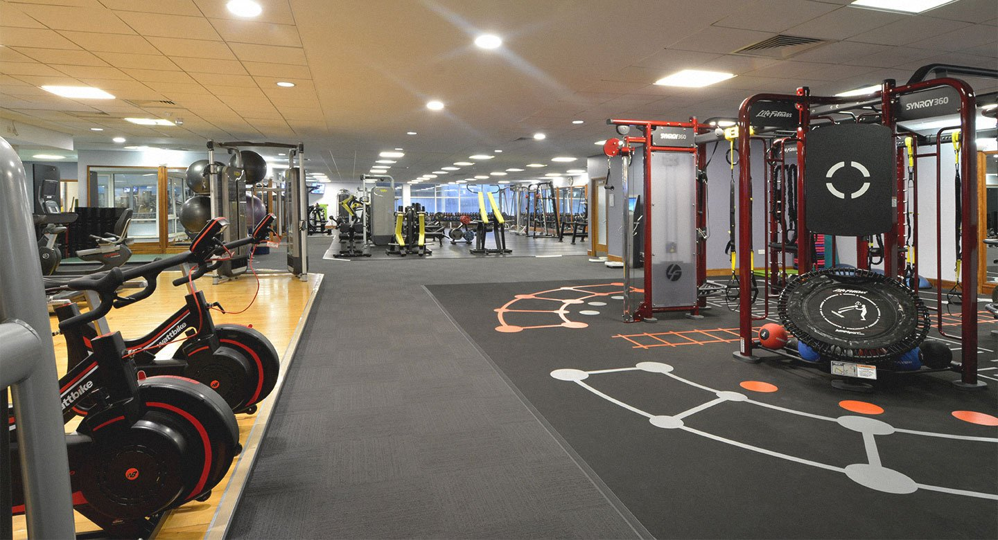 David Lloyd Brighton gym
