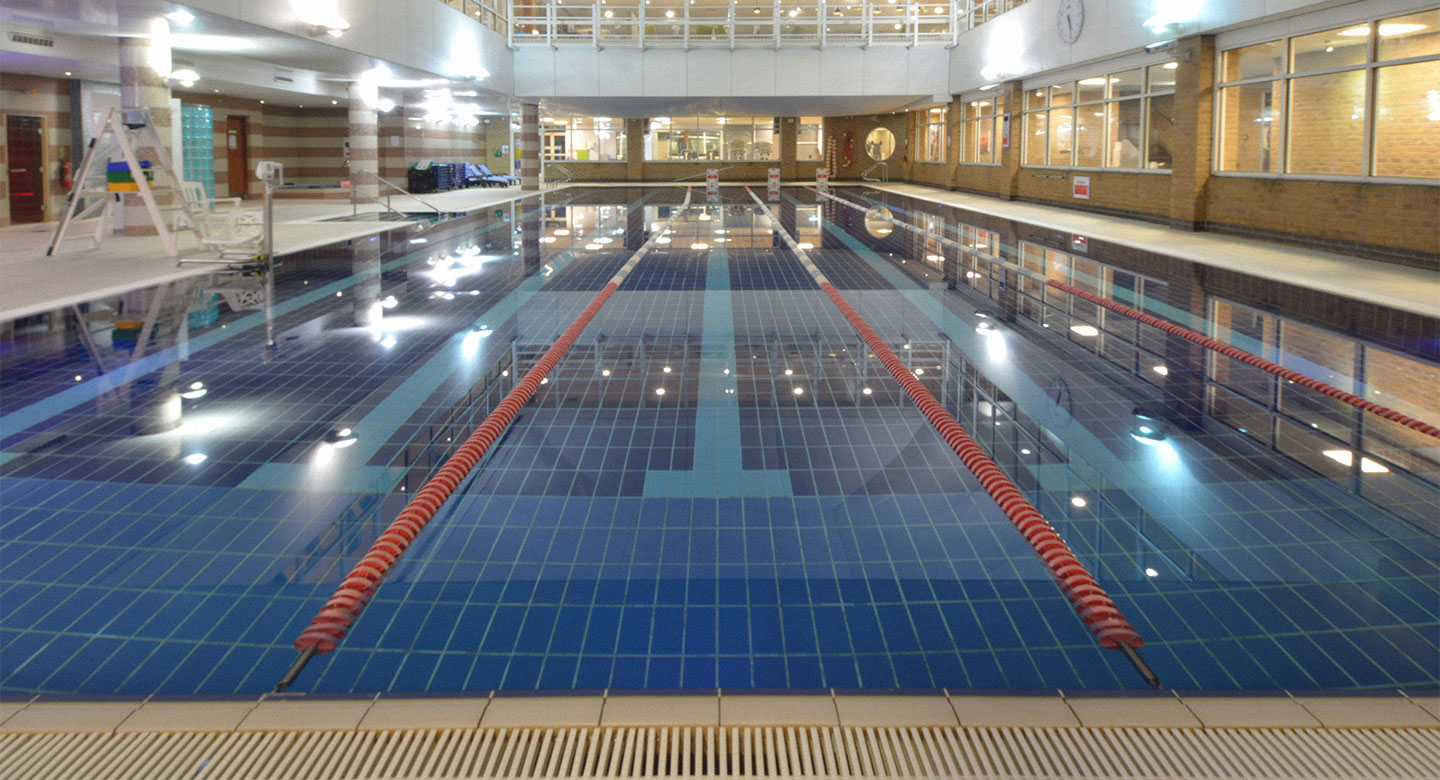 David Lloyd Brighton indoor pool