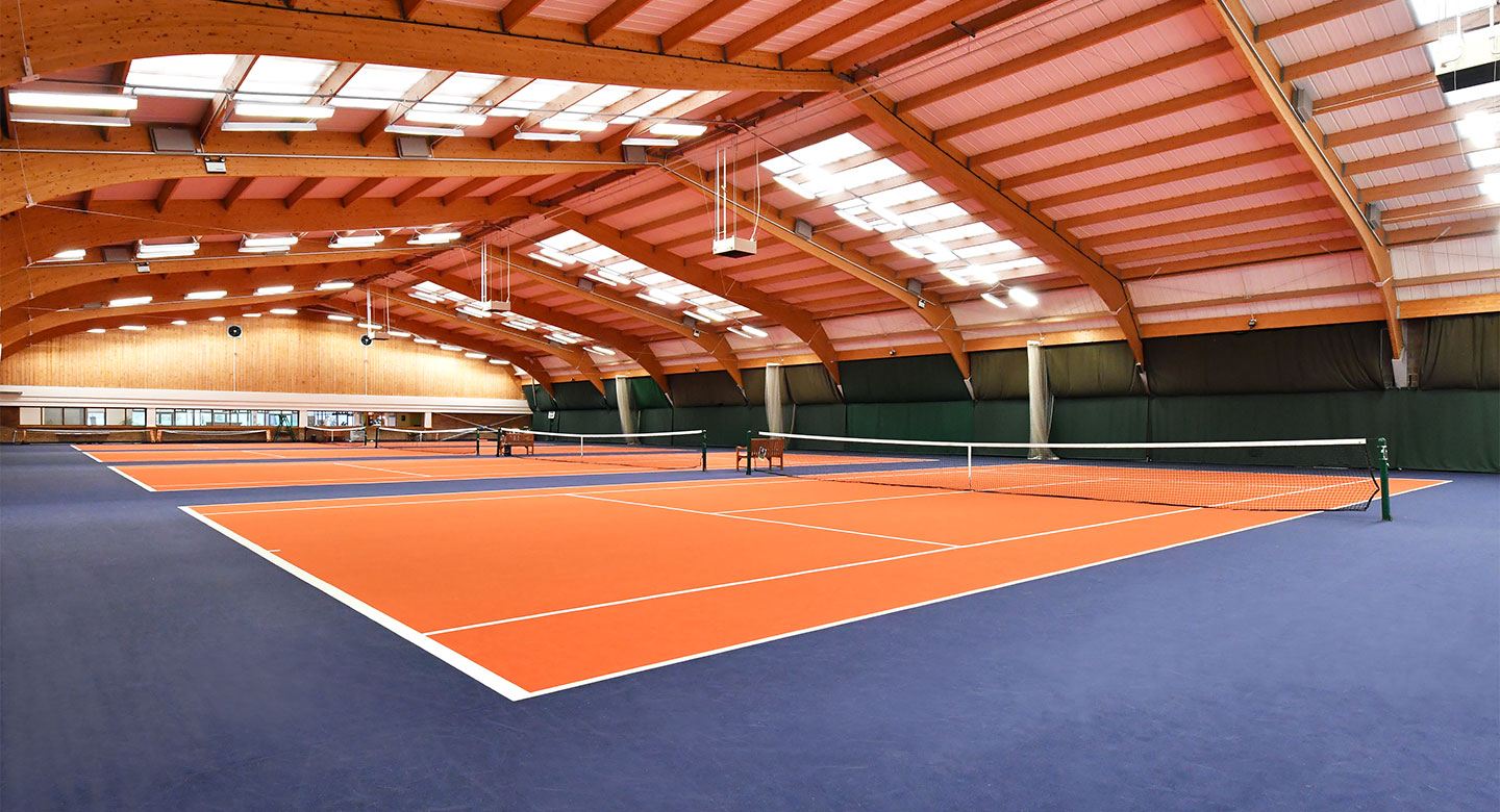 David Lloyd Bristol Long Ashton indoor tennis
