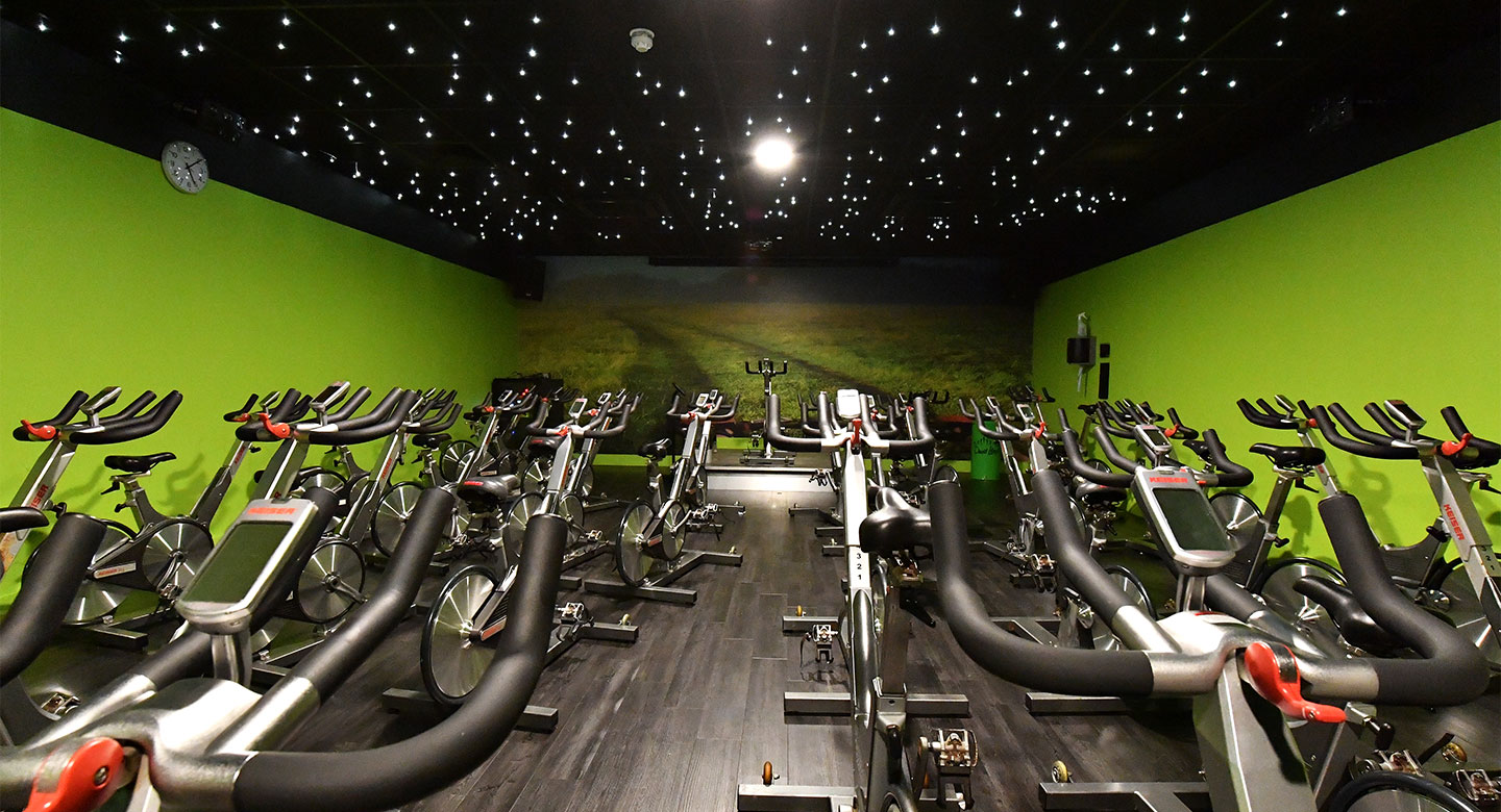 David Lloyd Bristol Long Ashton group cycling studio