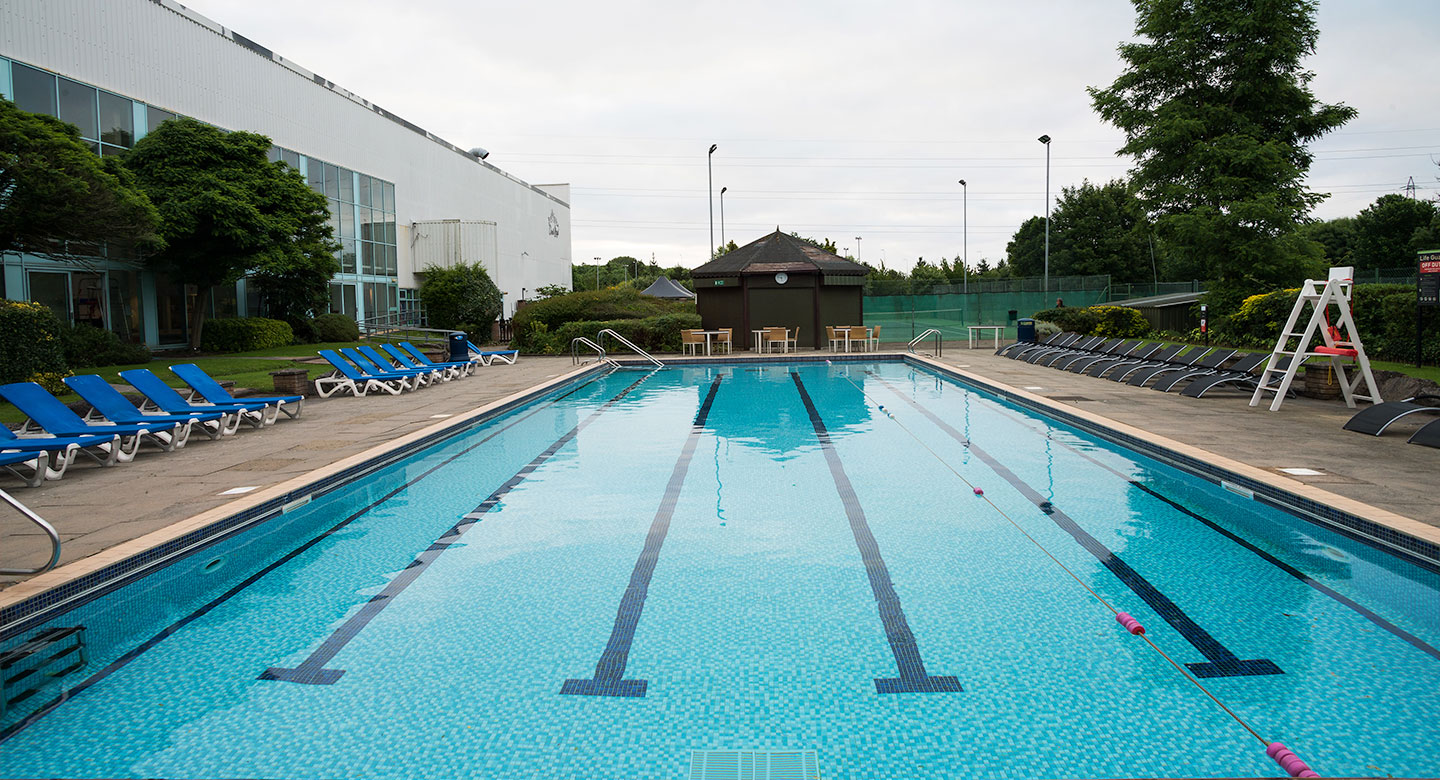 Cardiff outdoor pool