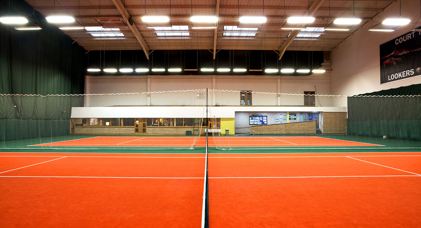 Cardiff indoor tennis