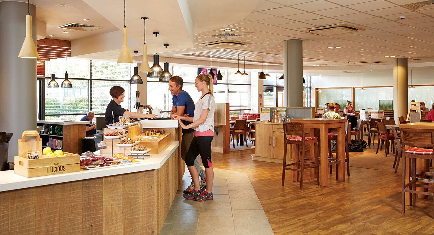 David Lloyd Cheam cafebar