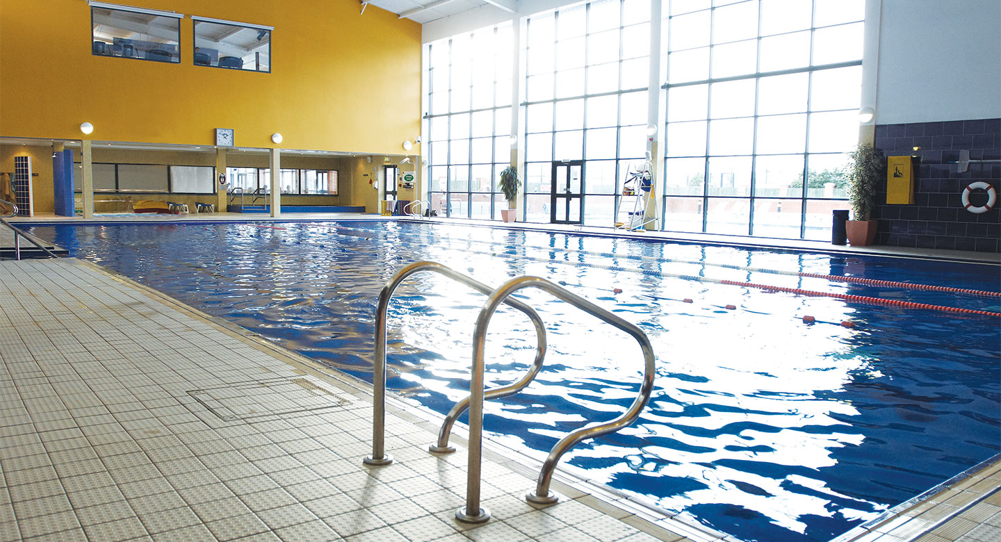 David Lloyd Cheam indoor pool