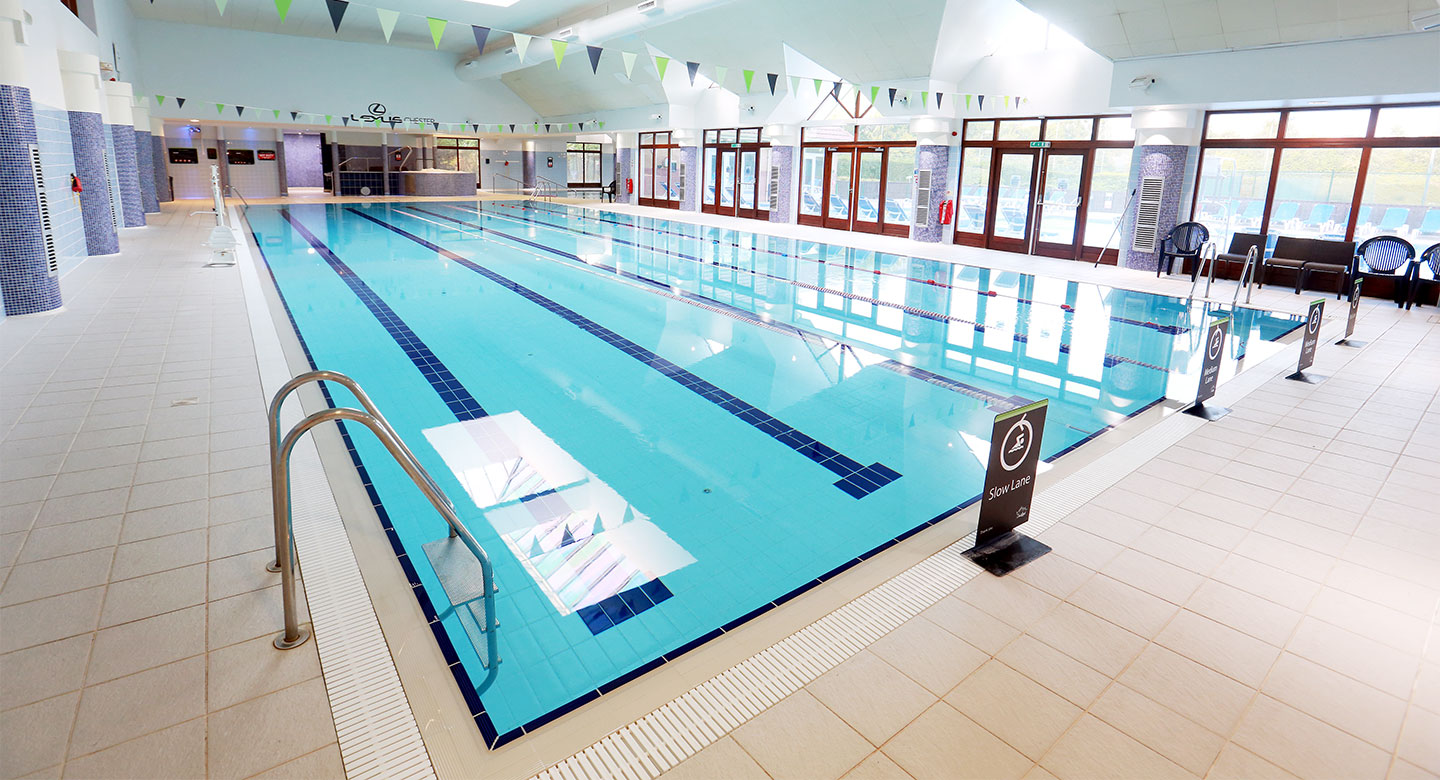 David Lloyd Cheshire Oaks indoor pool