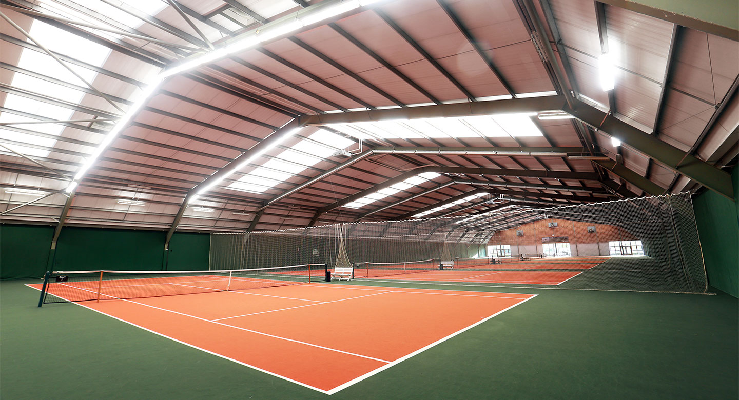 David Lloyd Cheshire Oaks indoor tennis