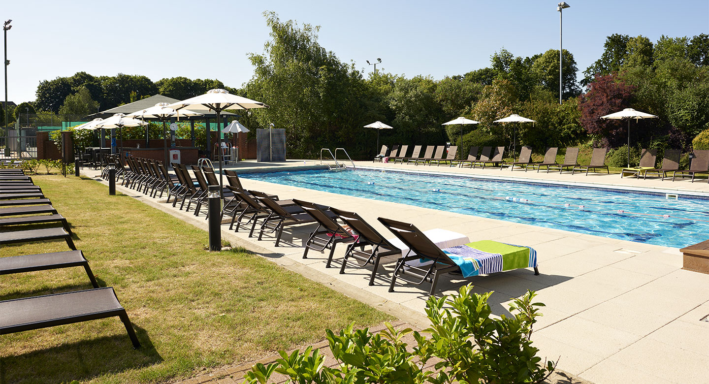 David Lloyd Chigwell outdoor pool