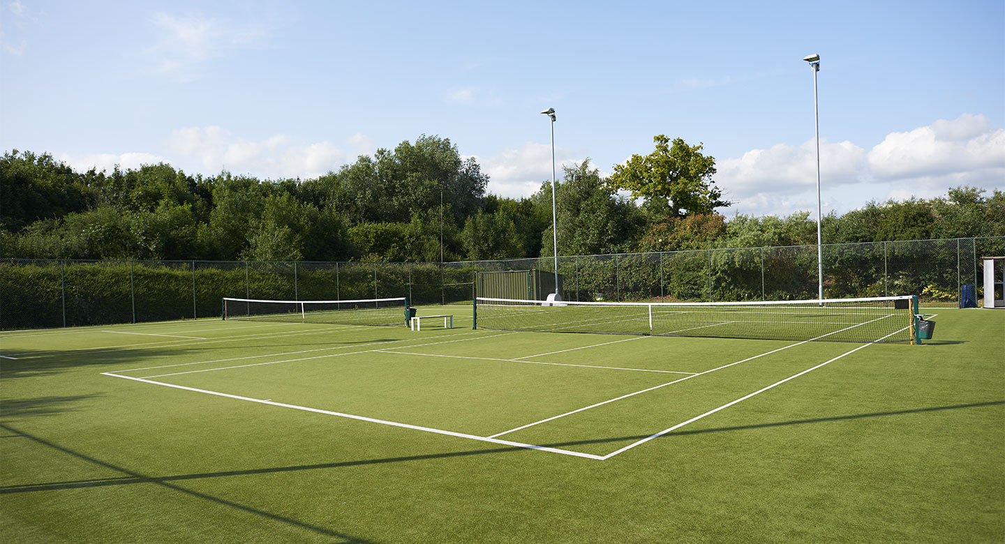 David Lloyd Chigwell outdoor tennis
