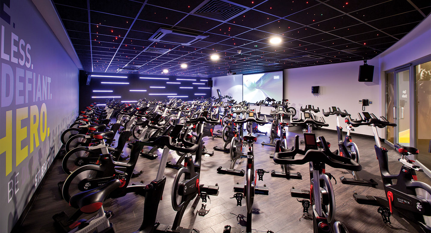David Lloyd Chigwell group cycling