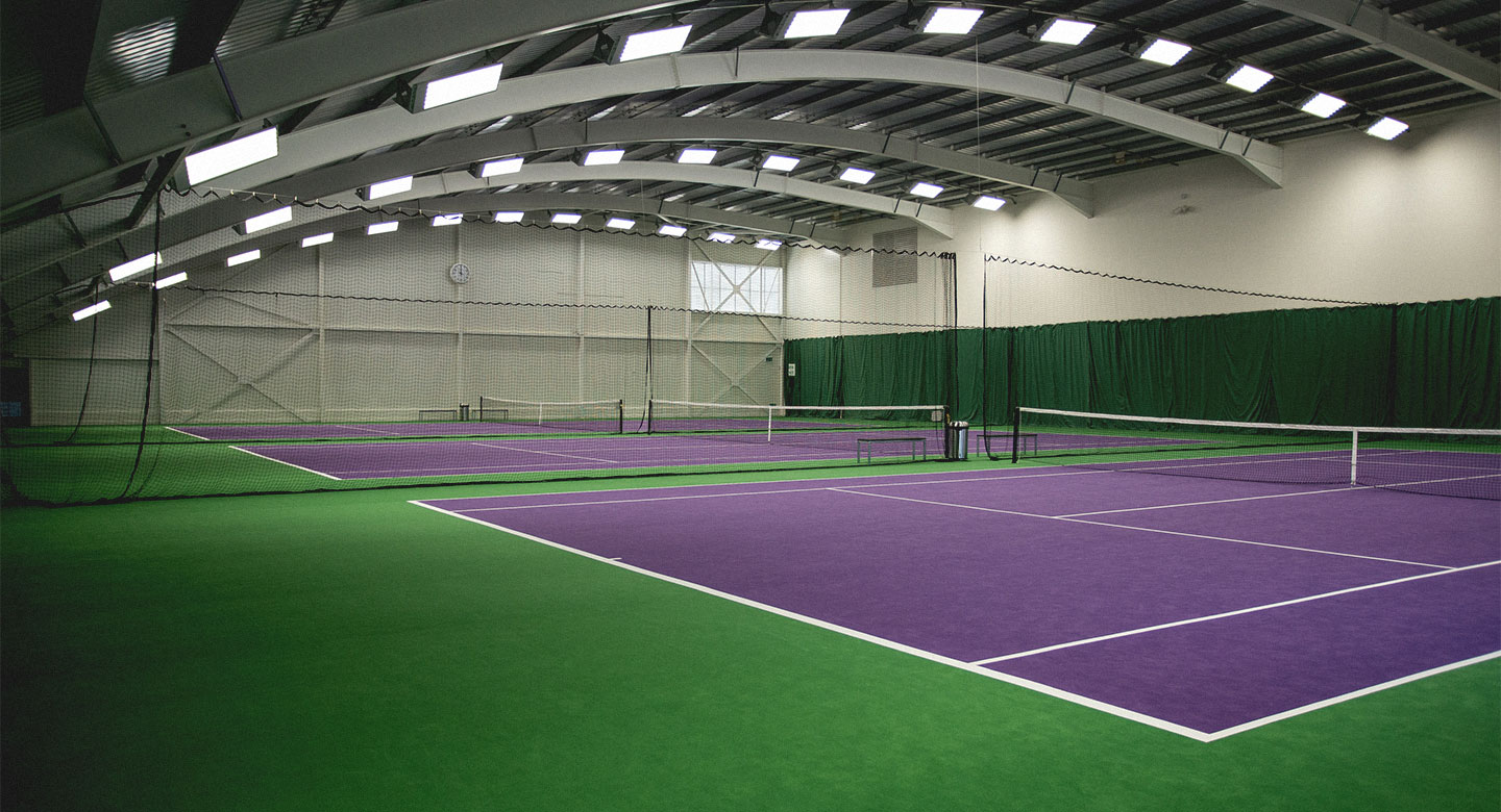 David Lloyd Colchester indoor tennis
