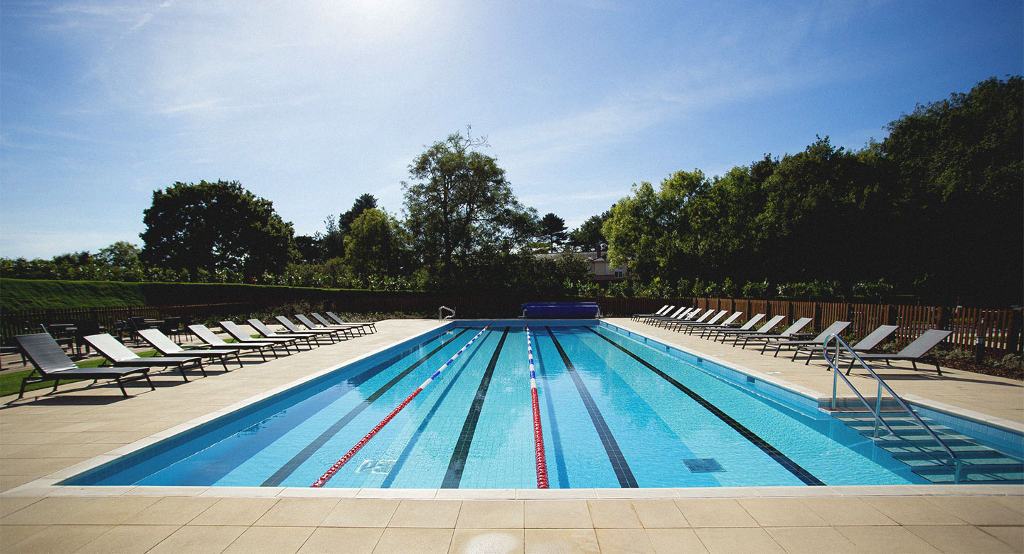 David Lloyd Colchester Outdoor Pool