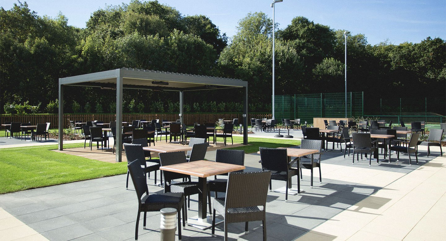 David Lloyd Colchester Outdoor terrace