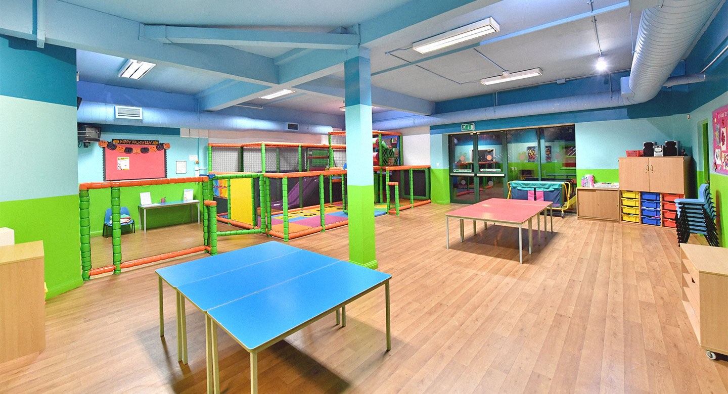 David Lloyd Coventry Kids area