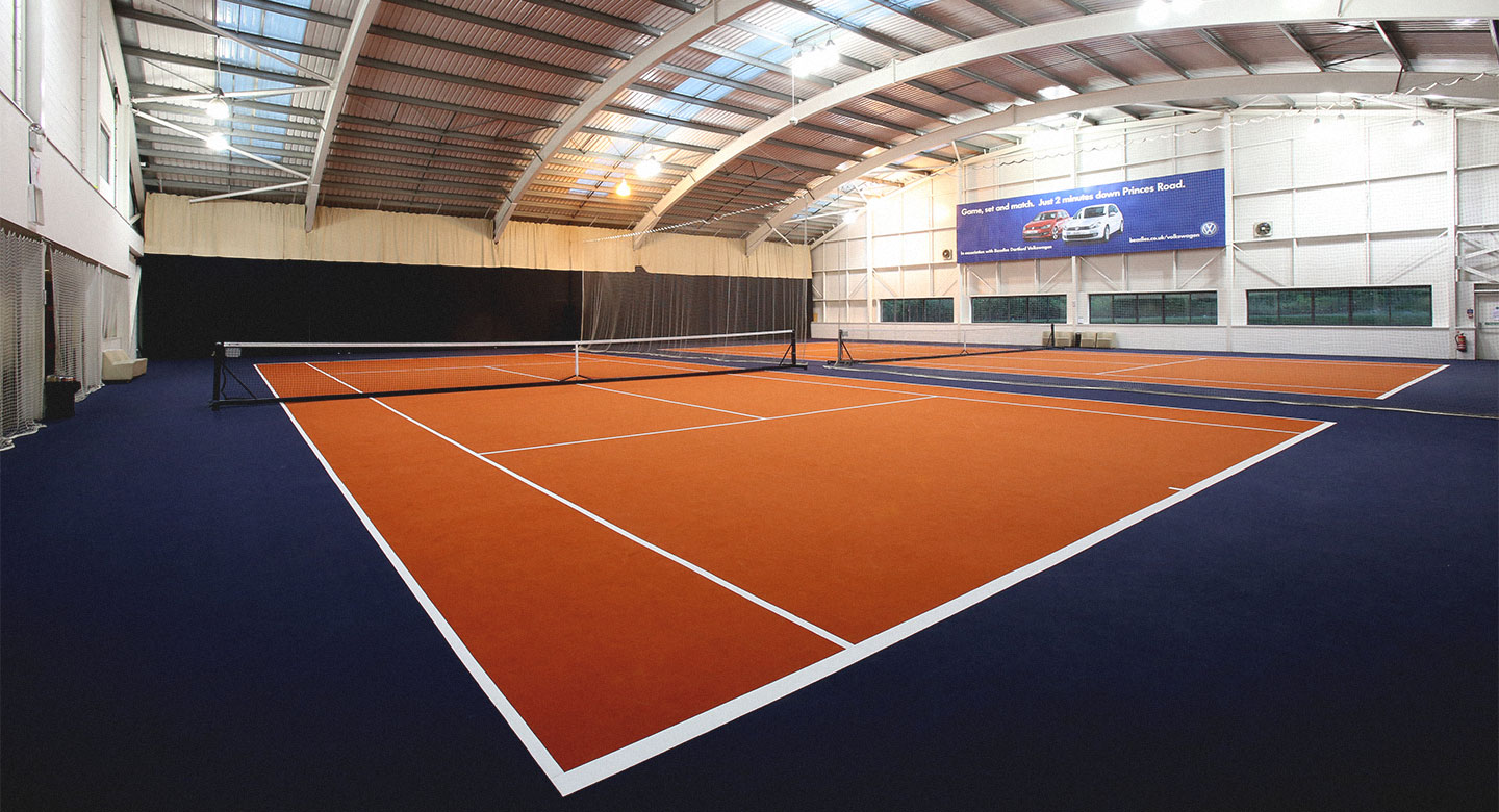 David Lloyd Dartford indoor tennis