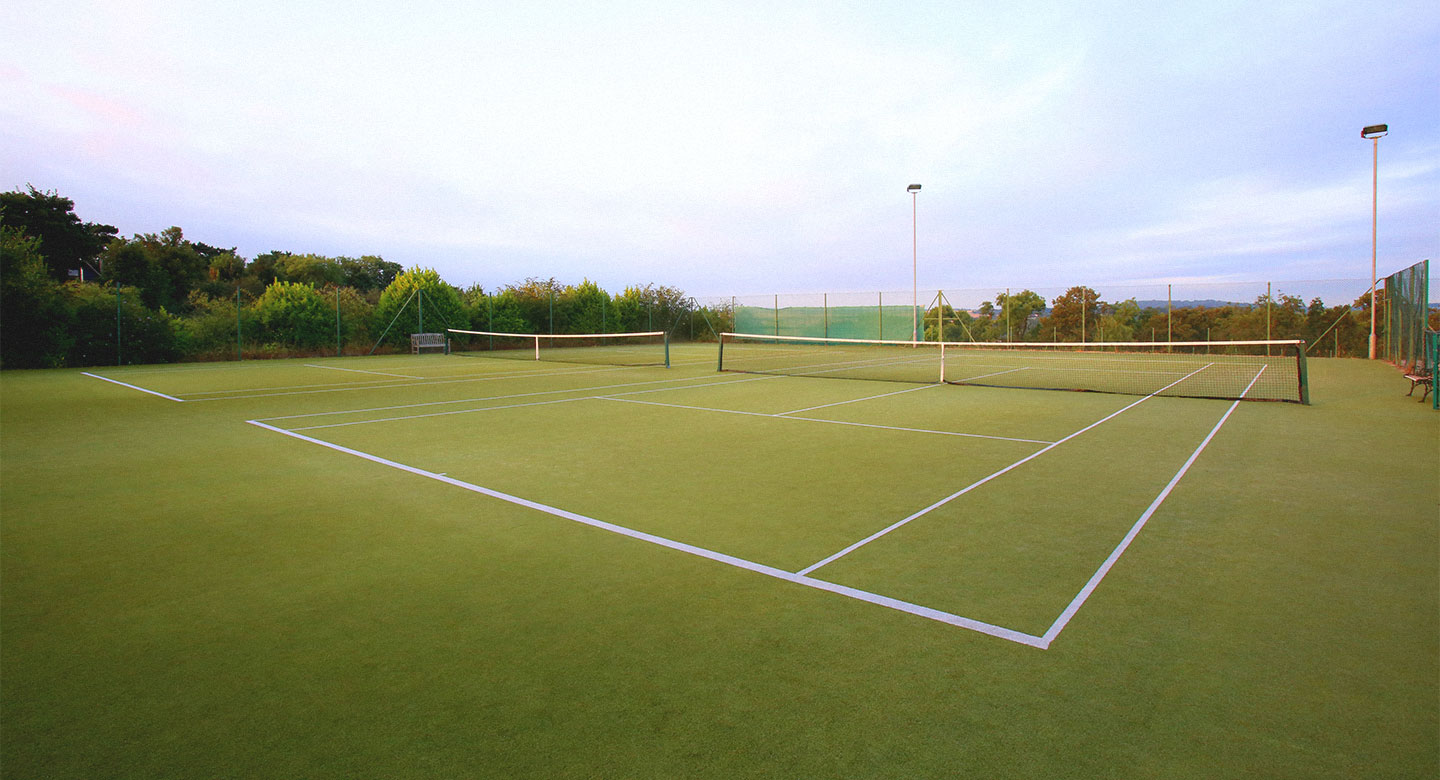 David Lloyd outdoor tennis