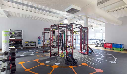Syngry360 equipment at David Lloyd Clubs