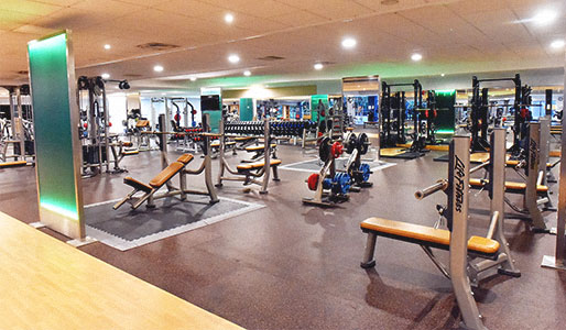 Weights area