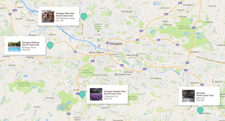 Gyms In Glasgow David Lloyd Clubs