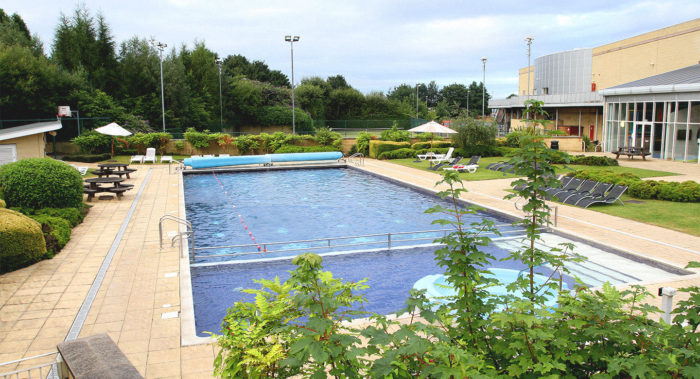 David Lloyd Dudley outdoor pool