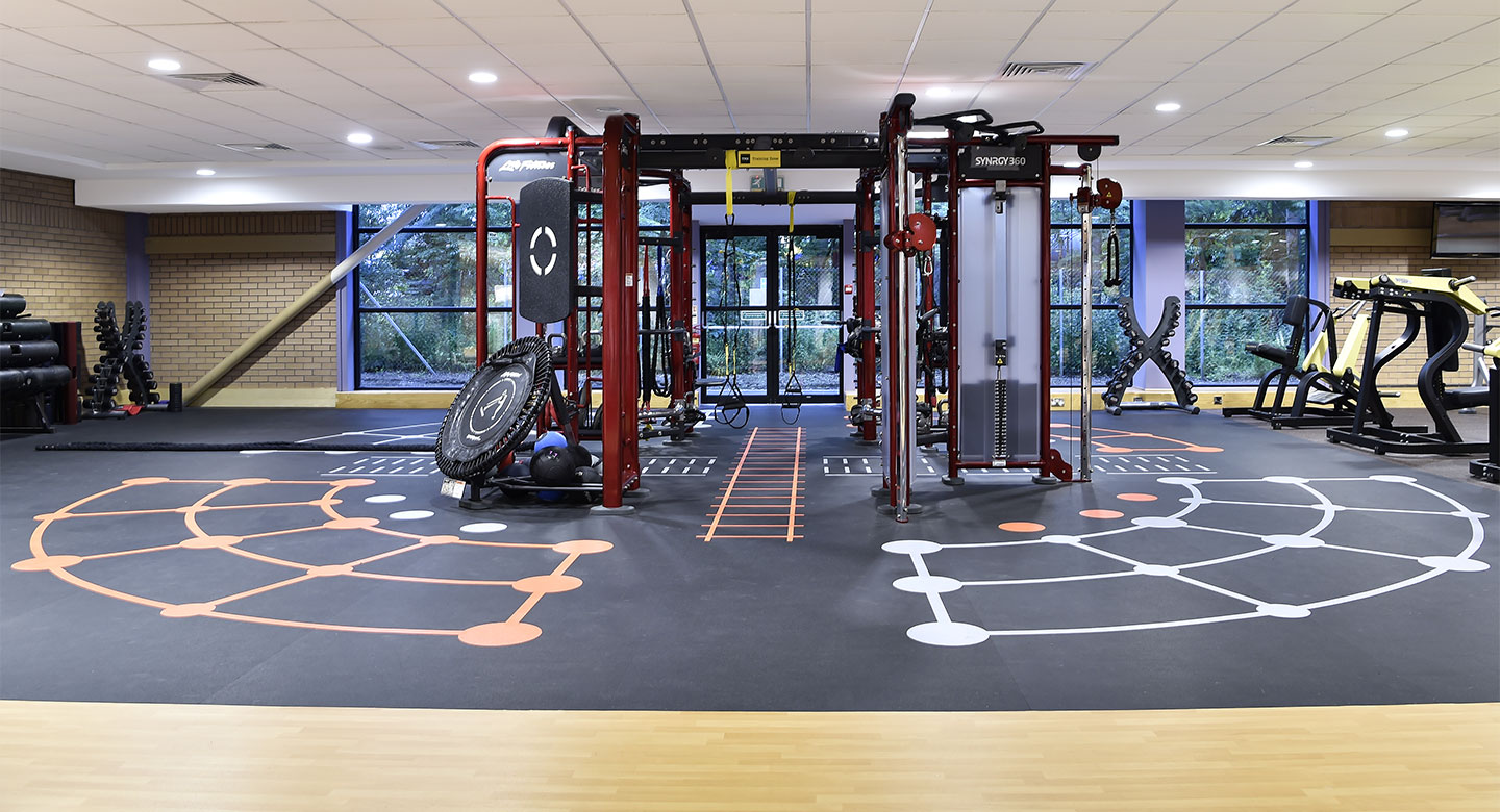 David Lloyd Dundee gym