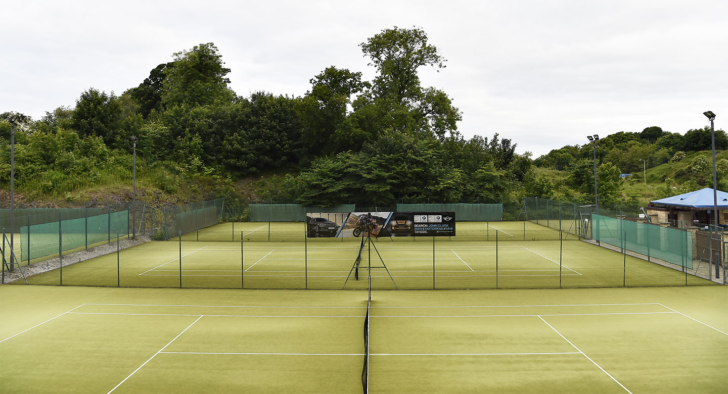 David Lloyd Dundee tennis courts