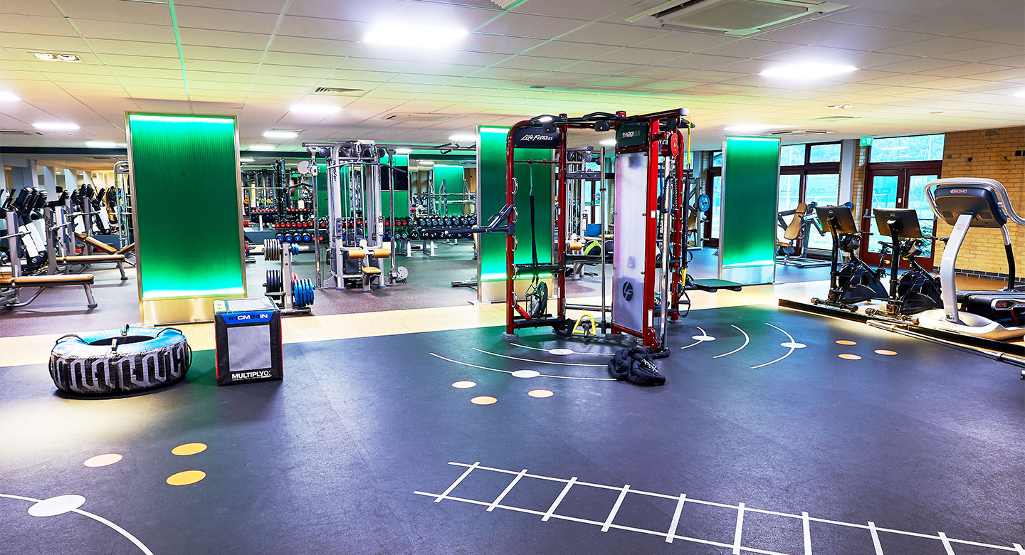 David Lloyd Enfield gym