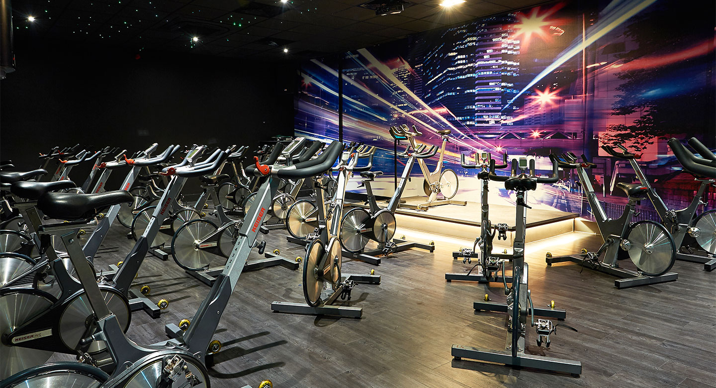 Epsom group cycling studio