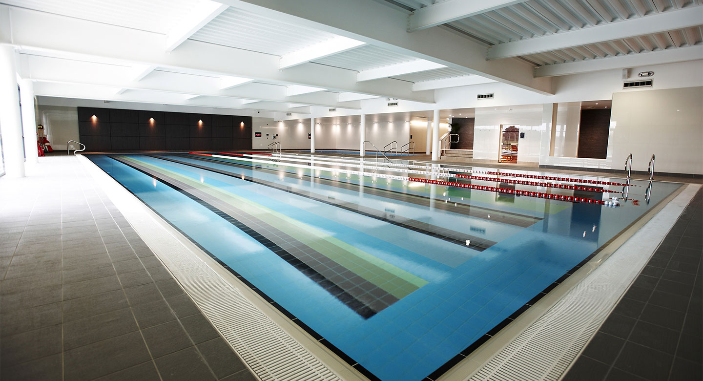 David Lloyd Exeter pool