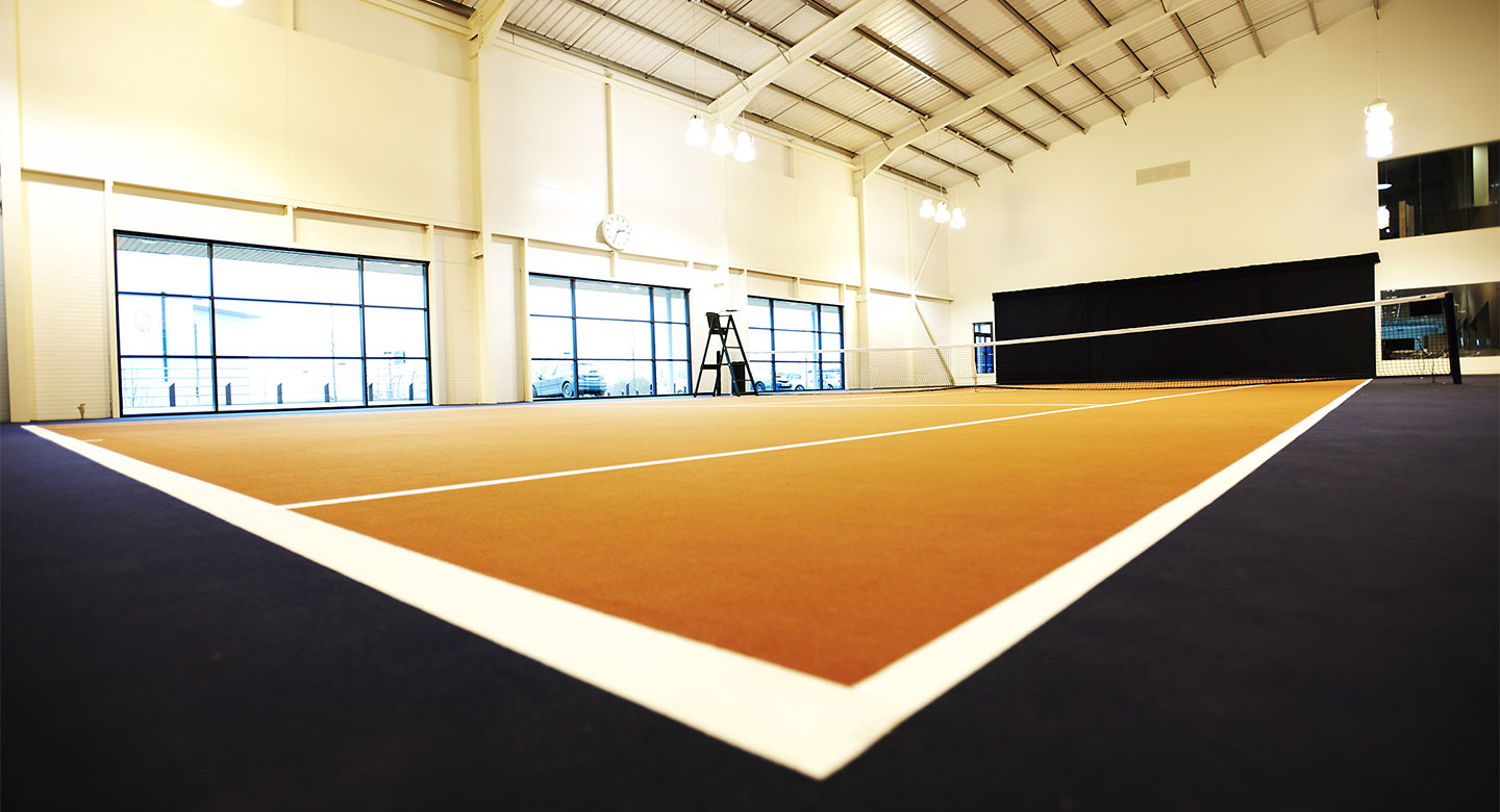David Lloyd Exeter indoor tennis
