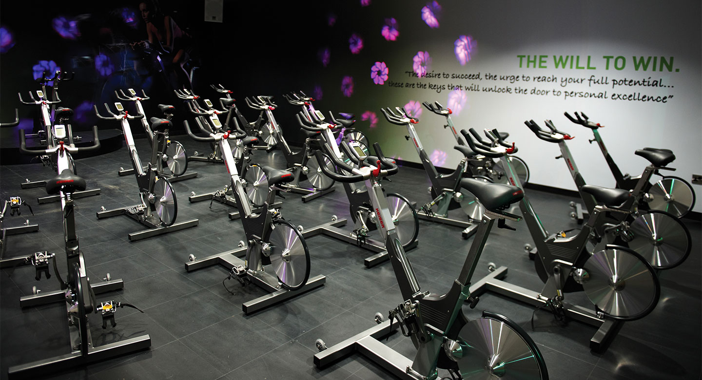 David Lloyd Farnham group cycling