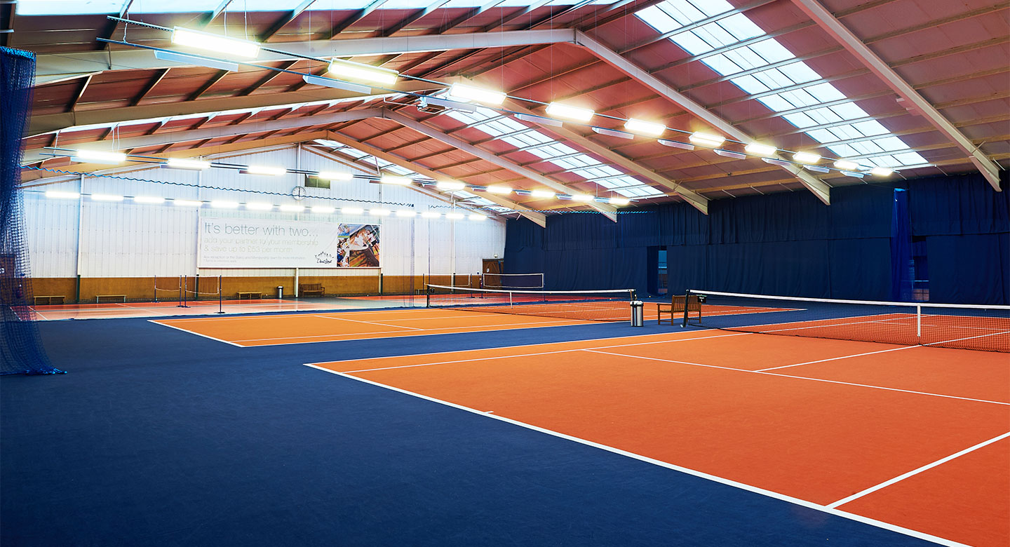 David Lloyd Finchley indoor tennis