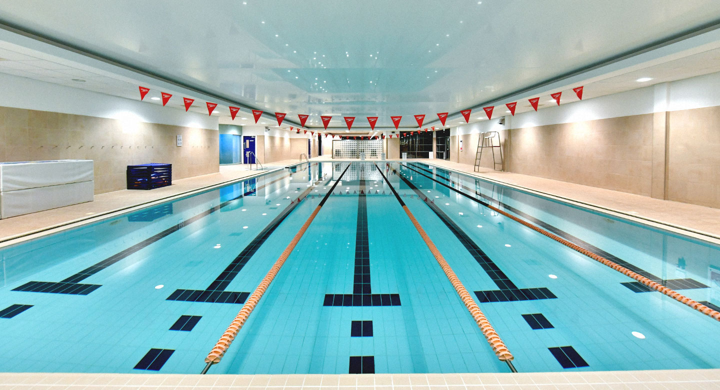 David Lloyd Gloucester indoor pool