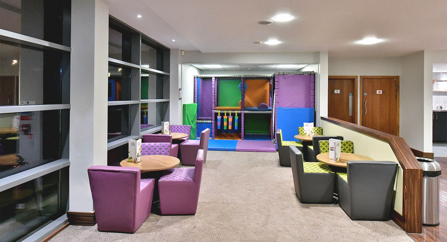 David Lloyd Gloucester Kids area
