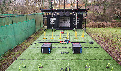 Battlebox outdoor training