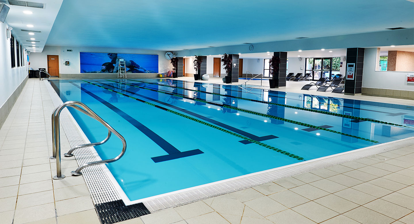 David Lloyd Heston indoor pool