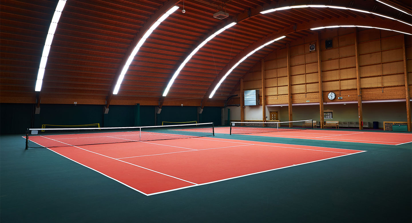 David Lloyd Heston indoor tennis