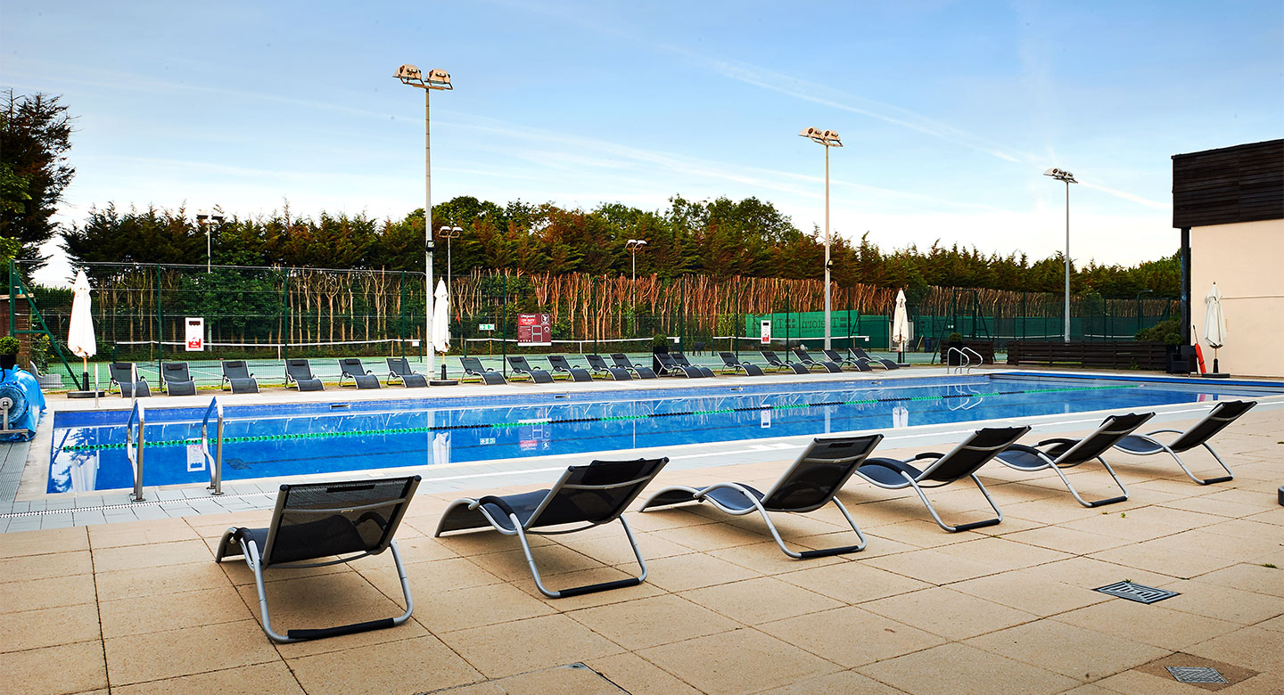 David Lloyd Heston outdoor pool