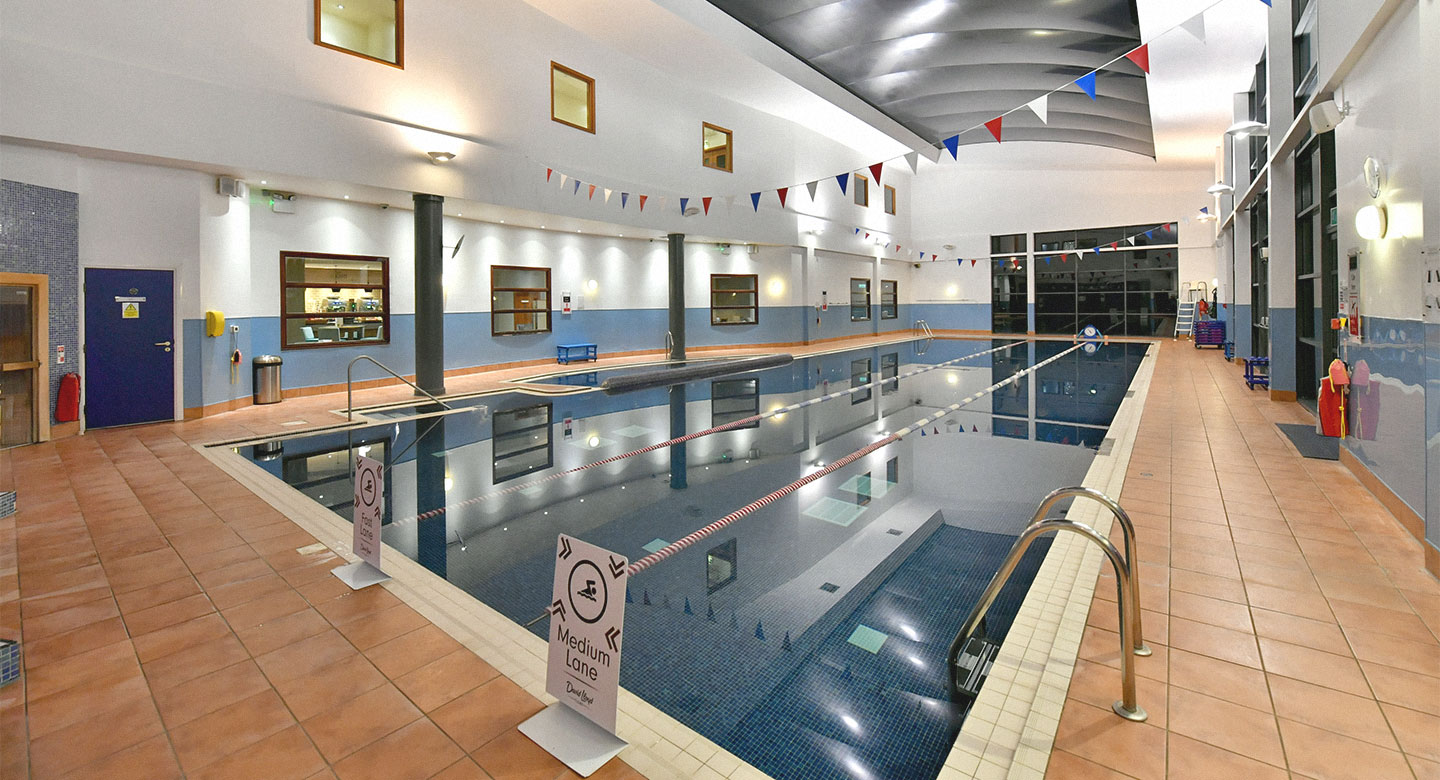 David Lloyd Lichfield Indoor Pool