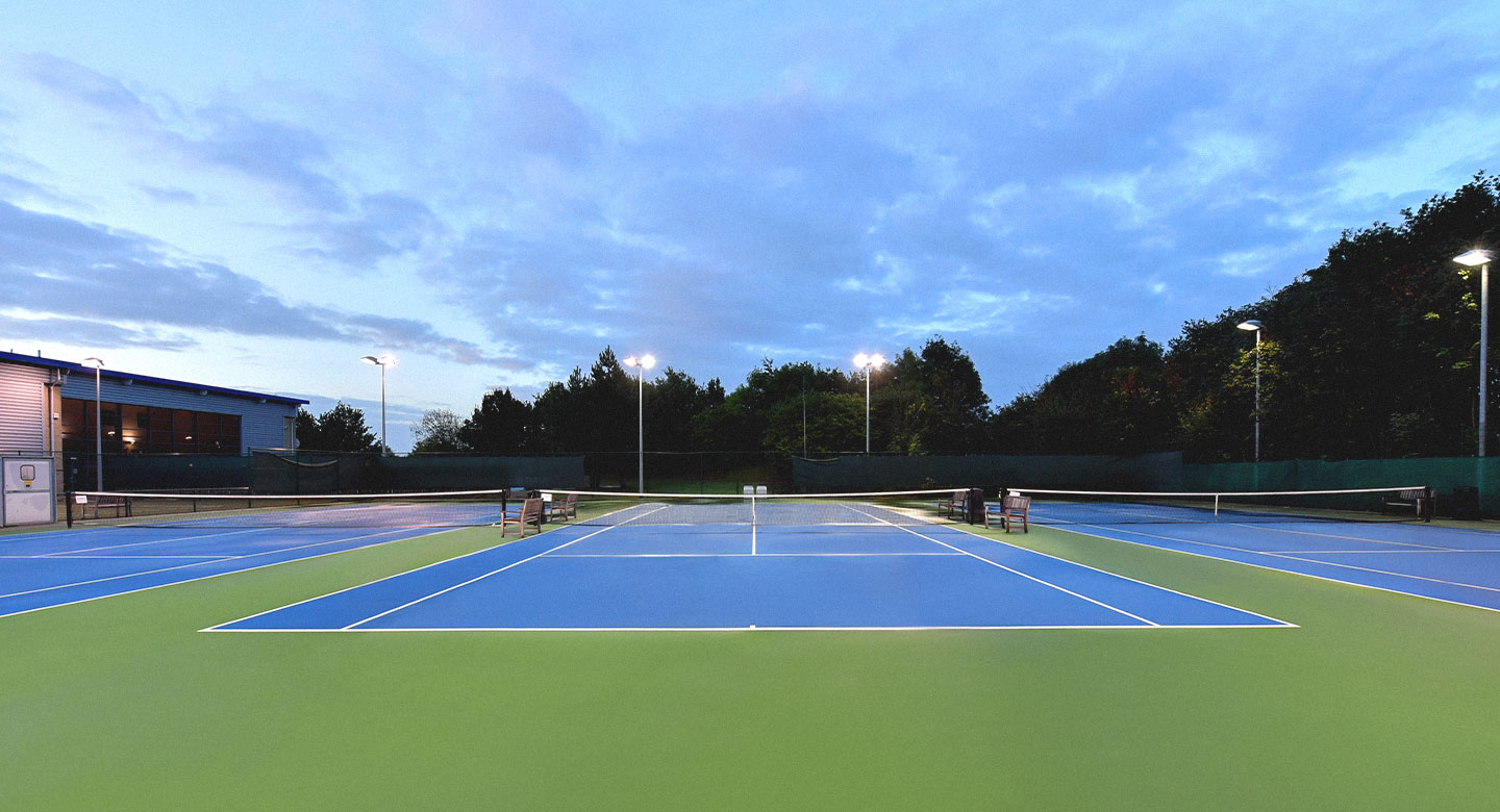 David Lloyd Lichfield Outdoor Courts