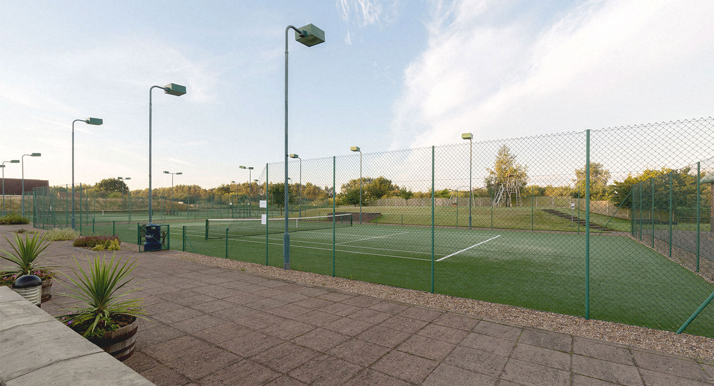 David Lloyd Lincoln Outdoor tennis
